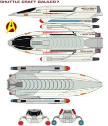 Shuttle craft  Galileo 7 by bagera3005