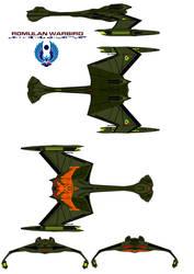 Romulan Warbird by bagera3005