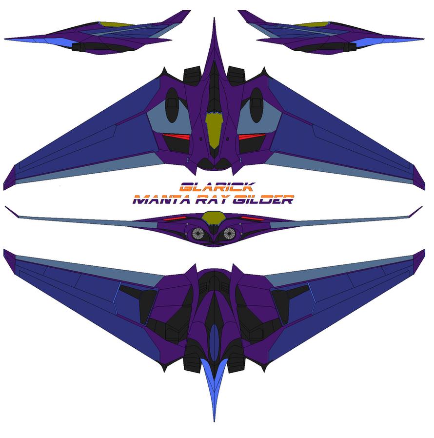 Glarick Manta ray  Glider by bagera3005