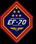 EF-70  flight logo 2