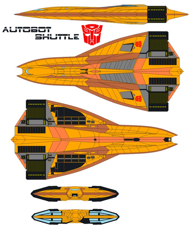 Autobot shuttle by bagera3005 on DeviantArt