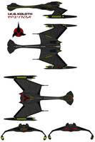Klingon IKS Koloth  D-12 Class Battle Cruiser
