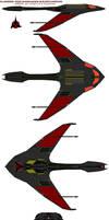 Klingon  D33 warhawk IKS Rotarran