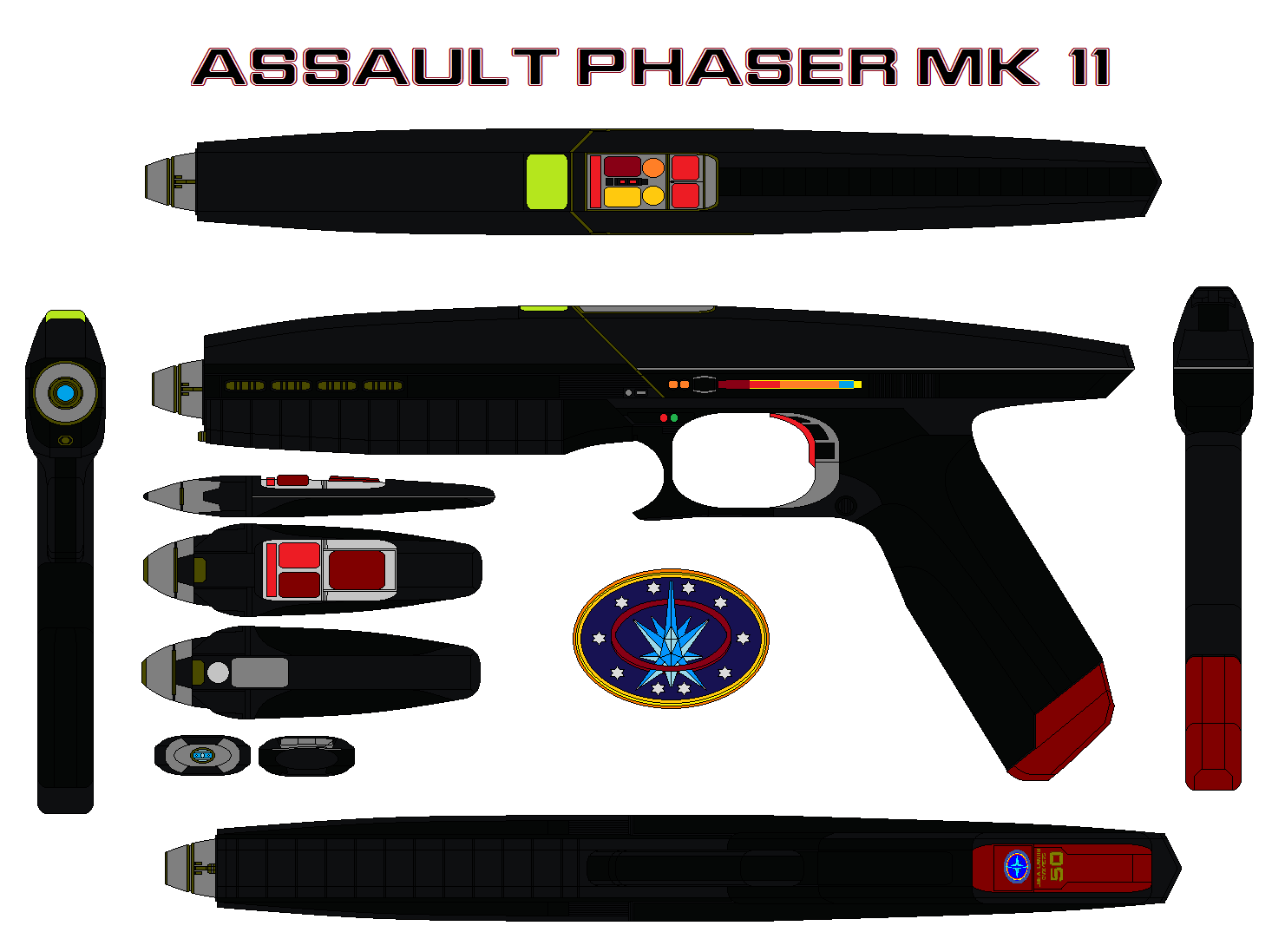 Assault Phaser Mk 11 By Bagera3005 On DeviantArt