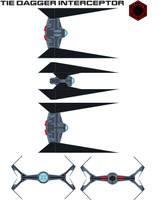 TIE Dagger interceptor by bagera3005