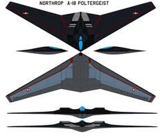 Northrop  A-18 Poltergeist by bagera3005
