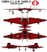 Cobra C.L.A.W. mark 2  crimson guard by bagera3005