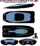 Chevrolet Corvette Knight 20.000 kitt