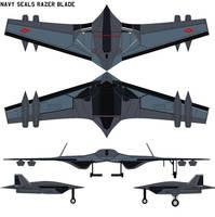 Navy Seals Lockheed  Razer blade by bagera3005