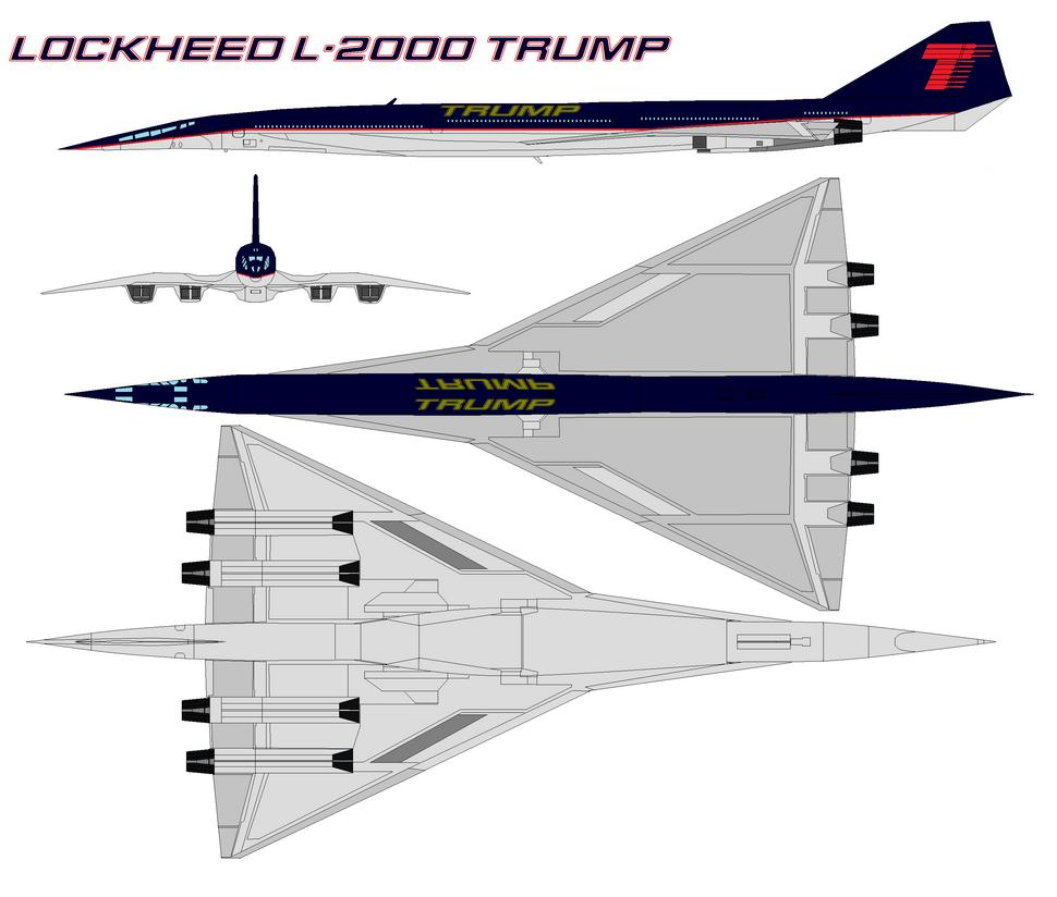 Lockheed L-2000 trump by bagera3005