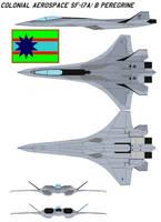 Colonial Aerospace SF-17AB Peregrine by bagera3005