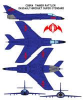 Cobra  Timber Rattler Dassault-Breguet Super ten by bagera3005