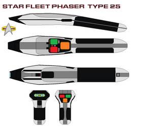 Star fleet phaser  type 25