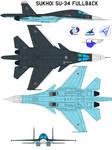 Sukhoi Su-34 Fullback north