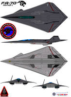 Lockheed  FA-70 Panther 2 U.S.A.F. gray ghost by bagera3005