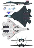 Sukhoi Su-50 Firefox  north by bagera3005