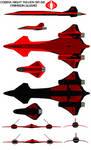Cobra Night Raven SR-66  crimson guard