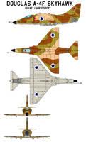 Douglas A-4F Skyhawk  IAF by bagera3005