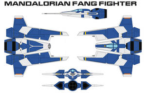 Mandalorian Fang Fighter by bagera3005