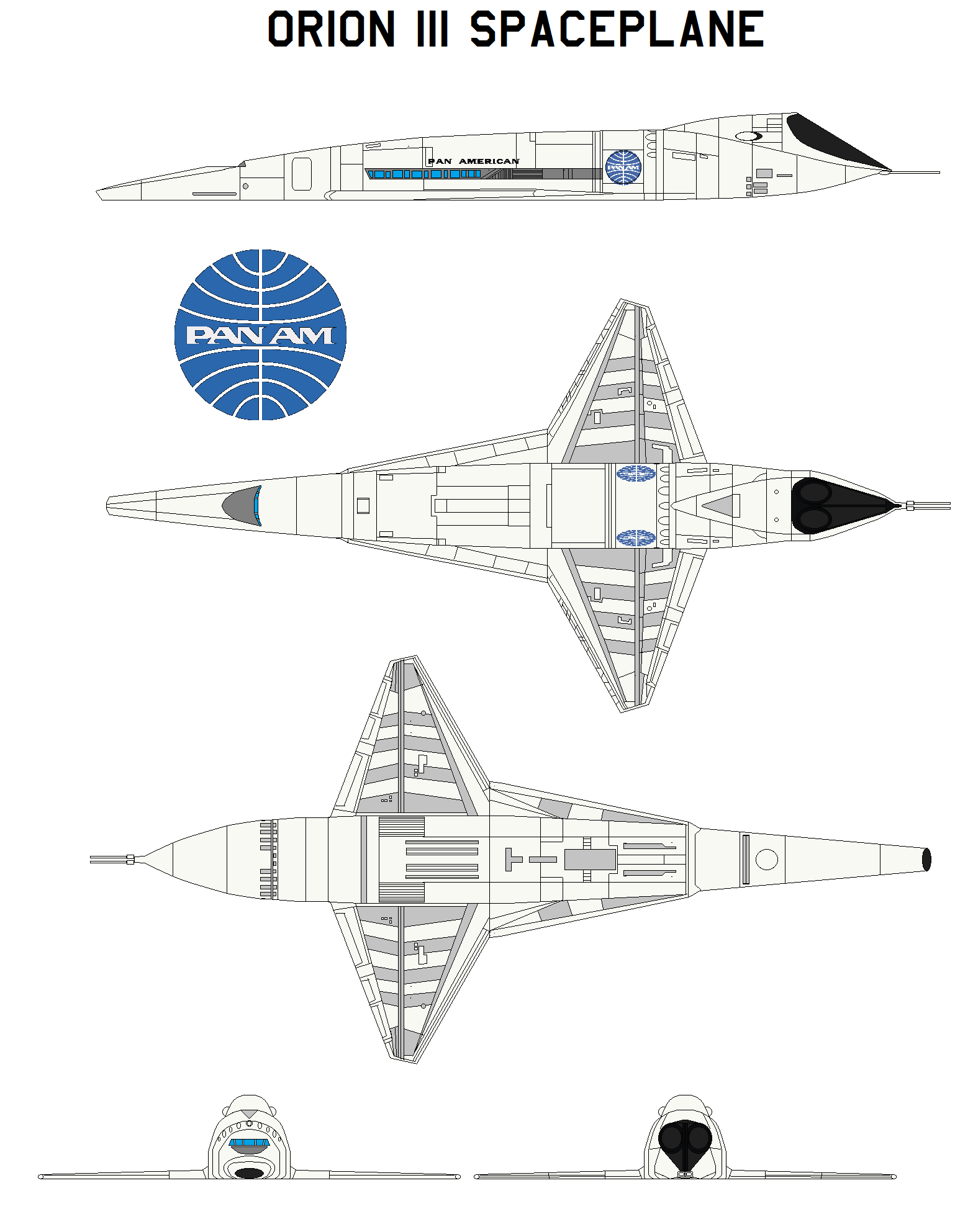 orion iii spaceplane 2001 a space odyssey by bagera3005 on