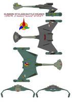 Klingon  D7 Class Battle Cruiser 2 by bagera3005