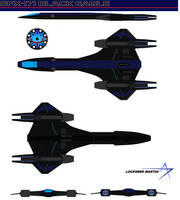 SFX-171 Black eagle U.S.S. PACIFICA by bagera3005