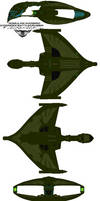romulan warbird D'deridex Battlecrusier  Belak