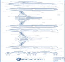 USS Atlantis CVX-4575 call out sheet by bagera3005