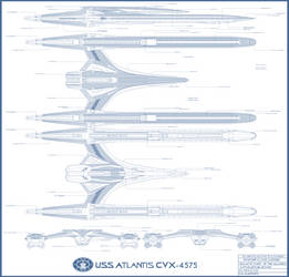USS Atlantis CVX-4575 call out sheet
