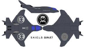 S.H.I.E.L.D. Quinjet