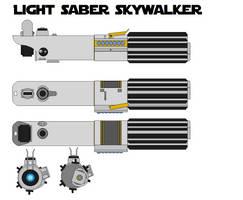 Light saber Anakin Skywalker by bagera3005