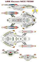 USS Equinox NCC-72381 by bagera3005