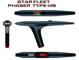 Star fleet Phaser  Type-IIIB
