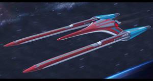 USS Atlantis CVX-4575 stating  out