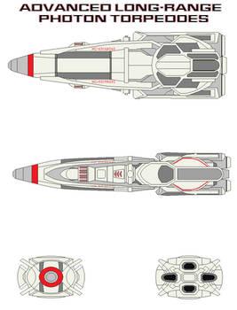 Advanced long-range photon torpedoes