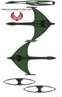Romulan Warbird T'liss Class by bagera3005