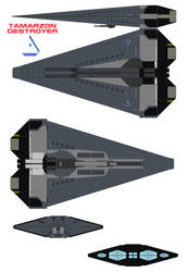 Tamarzon  Destroyer by bagera3005