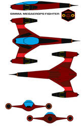 Simma  Megaerops fighter by bagera3005