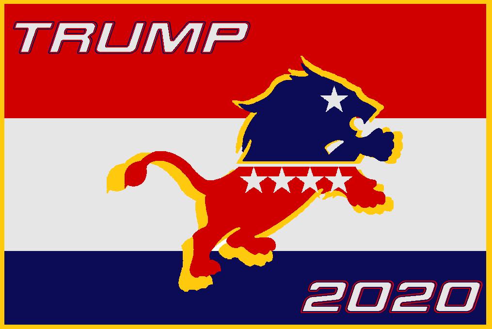 Trump-lion-2020 by bagera3005 on DeviantArt