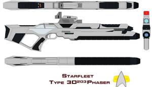 Starfleet Phaser Rifle Type 3d203
