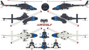 S.h.i.e.l.d   Airwolf by bagera3005