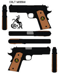 Colt M1991A1 by bagera3005