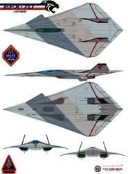 Lockheed  EFX-70 Panther 2 CVN-78 by bagera3005