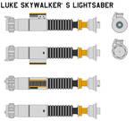 Luke Skywalker's lightsaber