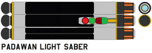 Light saber padawan by bagera3005