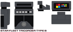 Star fleet Tricorder Type B