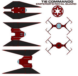 TIE Commando Emperor's Royal Guard by bagera3005