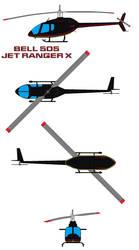 bell 505 JetRanger X by bagera3005