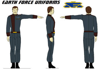 Earth Force Uniforms BABYLON 5 by bagera3005