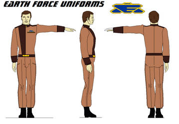 Earth Force Uniforms  Marines BABYLON 5 by bagera3005